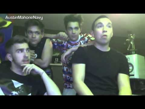 Austin Mahone Ustream Thursday April 10th 2014 [full] [11:50pm Est] video