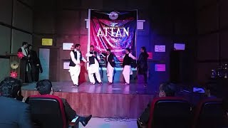 Pashto Attan Dance | Imperial University Students | 2019