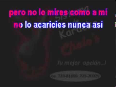 Alejandro Fernandez - No Lo Beses (karaoke) 2013 video