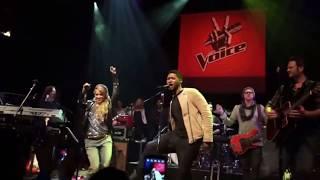 Come Together - Shakira, Blake Shelton, Adam Levine & Usher | The Voice USA Concierto Privado