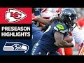 Chiefs vs. Seahawks | NFL Preseason Week 3 Game Highlights MP3
