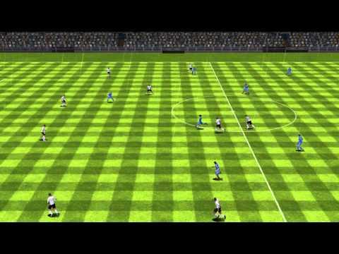 Overwhelimg Long Range Goal By Gareth Bale FIFA 14 - Real Madrid VS Valencia CF