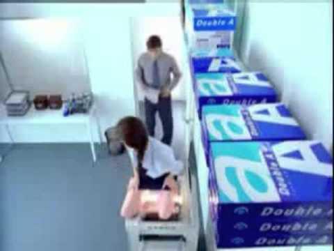 girl doing photocopy of self youtube