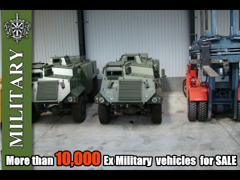 More than 10,000 Ex Military  vehicles  for SALE