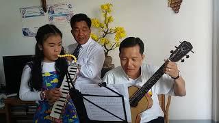 Tết 2016 với cha Phi Vũ