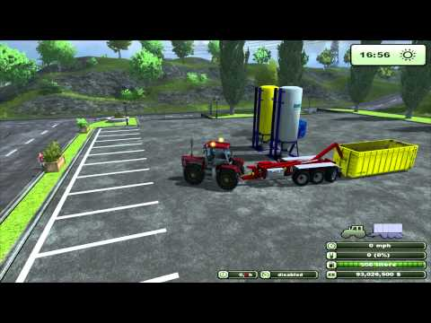 Farming Simulator 2013 Mod Review Hooklift Pack-Trailer and implements-v0.95 [BETA]byFMC(EN)