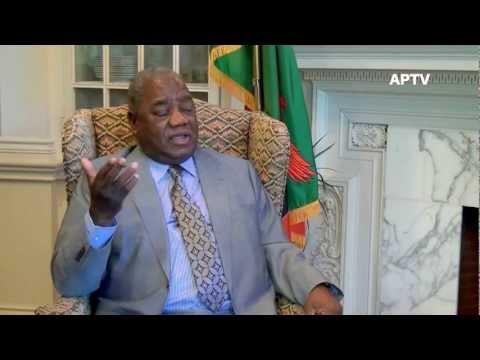 Rupiah Banda former President of Zambia.mp4