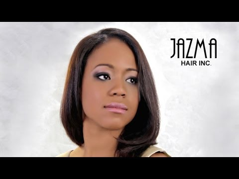 Semi Natural Relaxer Black Hair Style Cut By Jazma