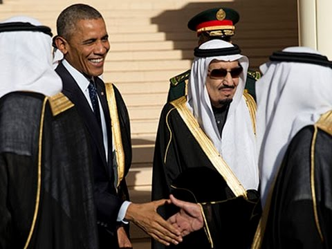Obama Arrives in Saudi Arabia to Pay Respects