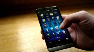 Обзор BlackBerry Z30