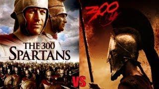 300 spartans (1962) VS 300 spartans (2006) ENG