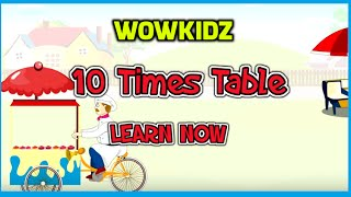 Musical tables - 10 Times Table - HD