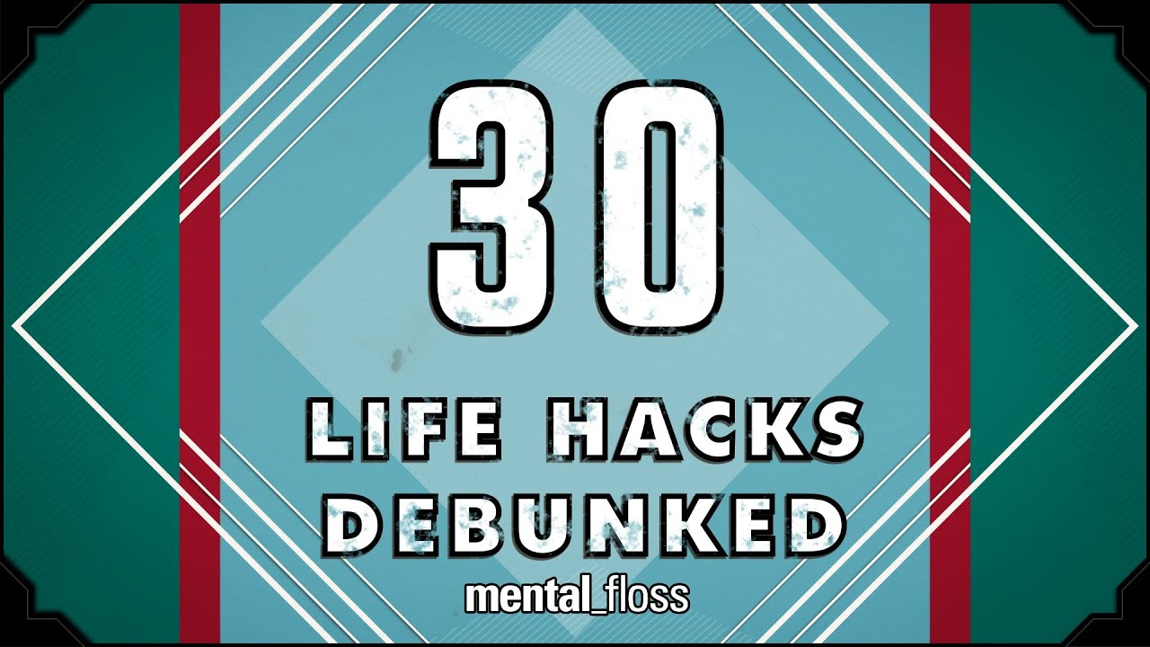 Life Hacks How To Declutter For A Better Life: Mental_floss On YouTube (Ep. 30