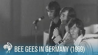 Bee Gees Perform in Hamburg, Germany (1969) | British Pathé