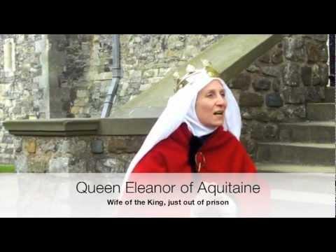 King Henry II meets Queen Eleanor of Aquitaine at Dover Castle