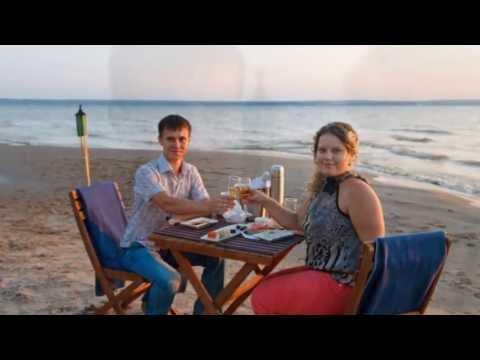Романтический ужин на берегу в Тольятти