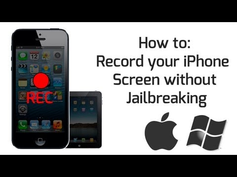 How to: Record your iPhone/iPad Screen without Jailbreaking (Mac & Windows)