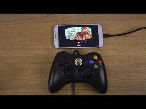 Grand Theft Auto: San Andreas Samsung Galaxy S4 Xbox 360 Controller Gameplay Test