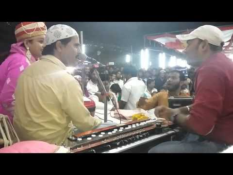 Vishal Dhundale (bhusawal) play banjo in qawali