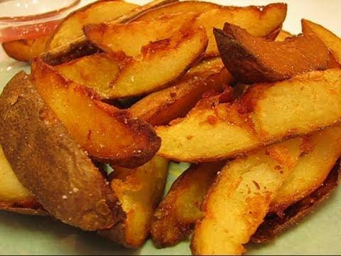 Deep Fried Potatoes Deep-fried Potato Wedges