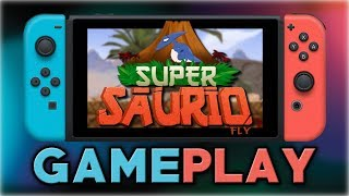Super Saurio Fly   First 10 Minutes   Nintendo Switch 10.43 MB