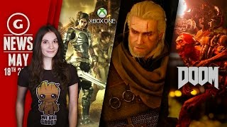 Doom Gameplay Teaser Revealed & Witcher 3 Launch Patch Notes! - GS Daily News