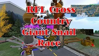 Giant snail race 513 18 April 28 RFL Fantasy