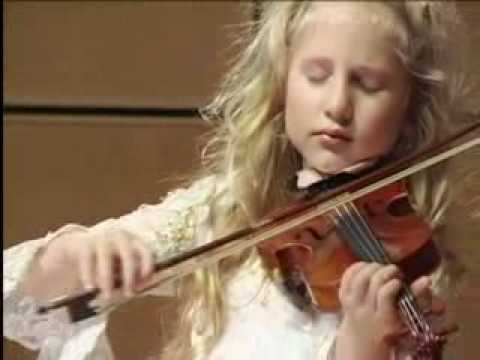 Extraordinary 6-Year Old Child Violinist Brianna Kahane
