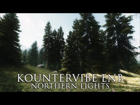 TES V - Skyrim Mods: Kountervibe ENB Extreme - Northern Lights