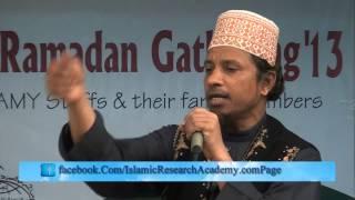 Lecture on Ramadan and  Halal Rizk  by Mufti Kazi ibrahim www IslamicResearc