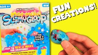 Make Your Own Mermaid Slimy Gloop | Easy To Mix & Make REVIEW 2017