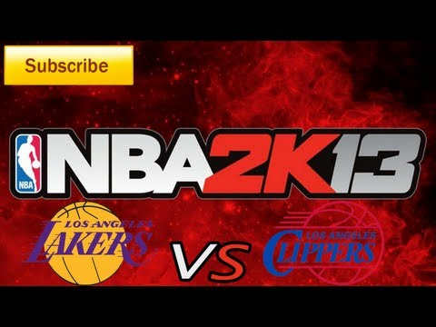 NBA 2K13: Los Angeles Lakers vs. Los Angeles Clippers Full Game [HD]