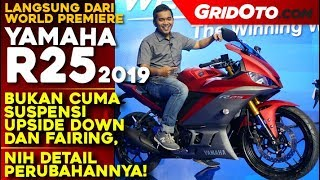 Yamaha New R25 2019 l First Impression Review l Gridoto