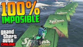 100% IMPOSIBLE!!! SÚPER MEGA ULTRA DIFICIL SALTO!! - Gameplay GTA 5 Online Funny Moments (GTA 5 PS4)