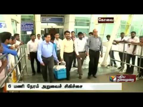 Liver Transplantation in Coimbatore with organ donated from Chennai