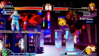 Streetfighter IV Casual Match 1