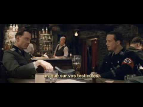 http://www.inglouriousbasterds-movie.com/ Inglourious Basterds is a 2009 epic ensemble war film written and directed by Quentin Tarantino. It is set in Nazi-...