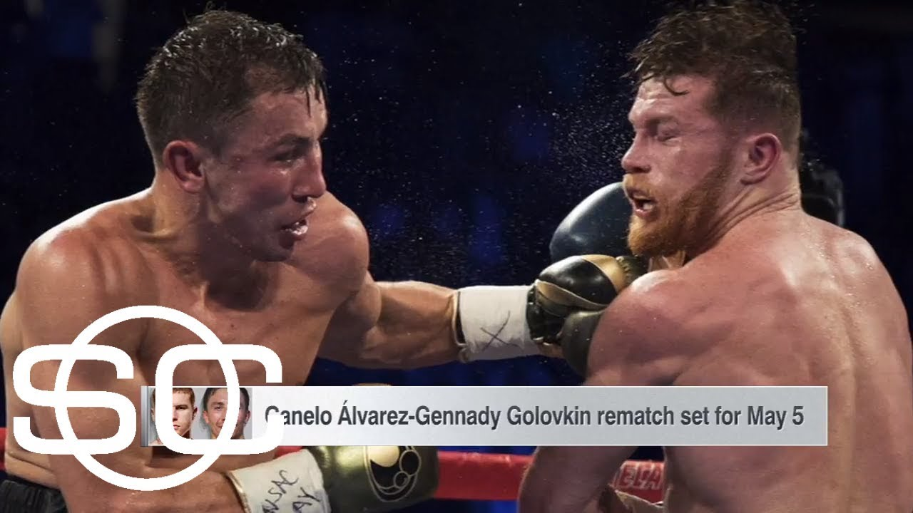 Canelo Alvarez and Gennady Golovkin announce rematch | SportsCenter | ESPN