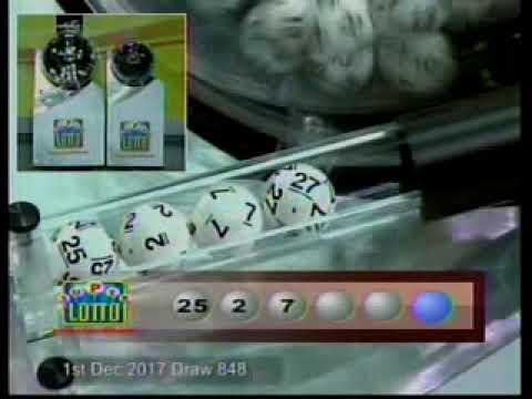 Super Lotto Draw 848   12012017