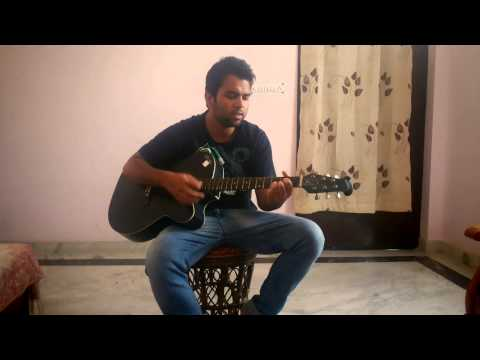 mera mann kehne laga guitar cover by shubham