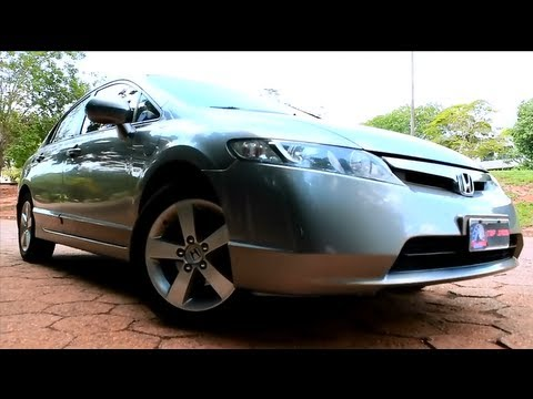 Avaliação Honda New Civic LXS 2008 (Canal Top Speed)