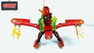 Đồ chơi Lego Ninjago Kai cưỡi chim lửa brick toy for kids