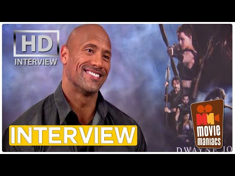 Dwayne Johnson aka The Rock aka Hercules   Interview