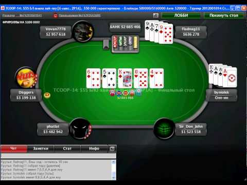 TCOOP 2012 - Event 14. FINAL TABLE