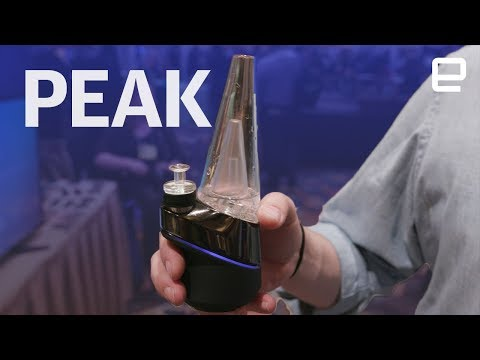 Puffco Peak hands-on at CES 2018