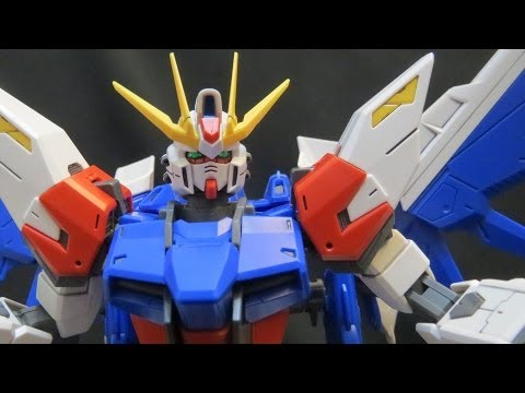 MG Build Strike Gundam (2: Parts) Build Fighters Full Package plastic model review ガンプラ