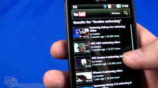 LG Optimus 3D hands-on video