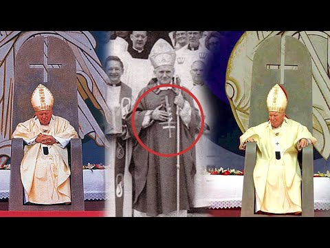 John Paul II's Amazing Connection to the Upside-Down Cross and the Antichrist