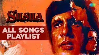 Silsila [1981]   All Songs   Amitabh Bachchan, Jaya Bhaduri & Rekha   Audio Juke Box