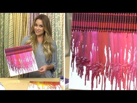 Lauren Conrad: Crayon Art
